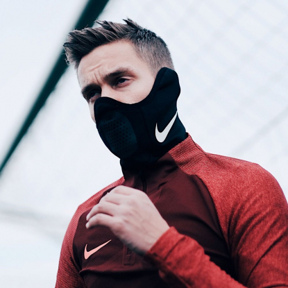 Спортивный термо шарф Nike Therma Squad Snood AQ8233-011  9