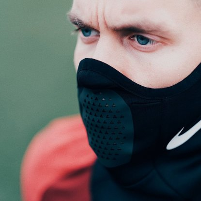 Спортивный термо шарф Nike Therma Squad Snood AQ8233-011  7