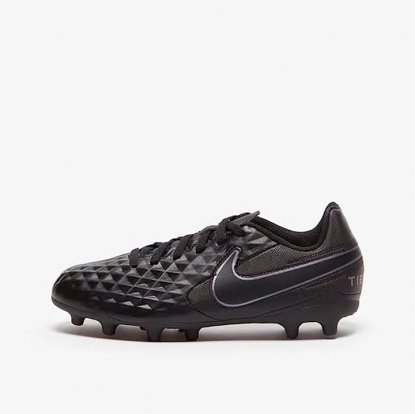 Детские бутсы Nike Kids Tiempo Legend VIII Club FG  AT5881-010 #2