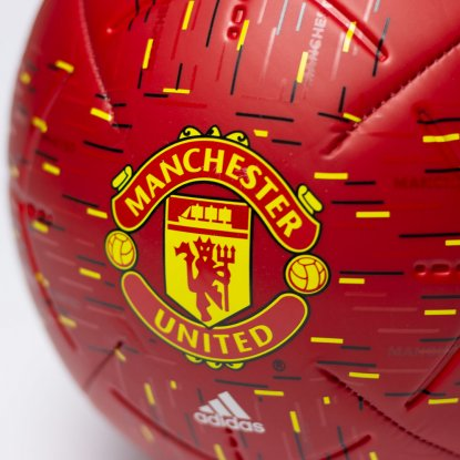 Футбольний м'яч adidas Manchester United Club Ball GH0061 GH0061 #4