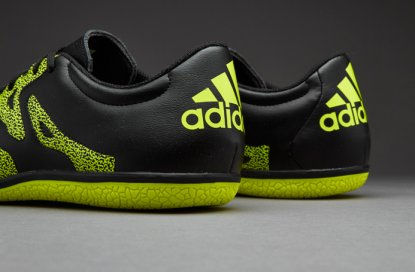 Футзалки Adidas X Leather 15.3 IC - Black/Citrus  5