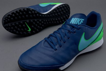 Сороконожки Nike TIEMPOX GENIO II LEATHER TF - dark-sky | 819216-443 | 819216-443 | 4football.com.ua
