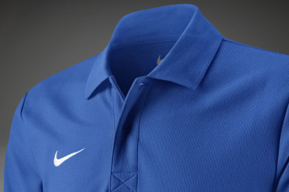 ПОЛО NIKE TS CORE POLO ЯРКО СИНЯЯ 454800-463  2