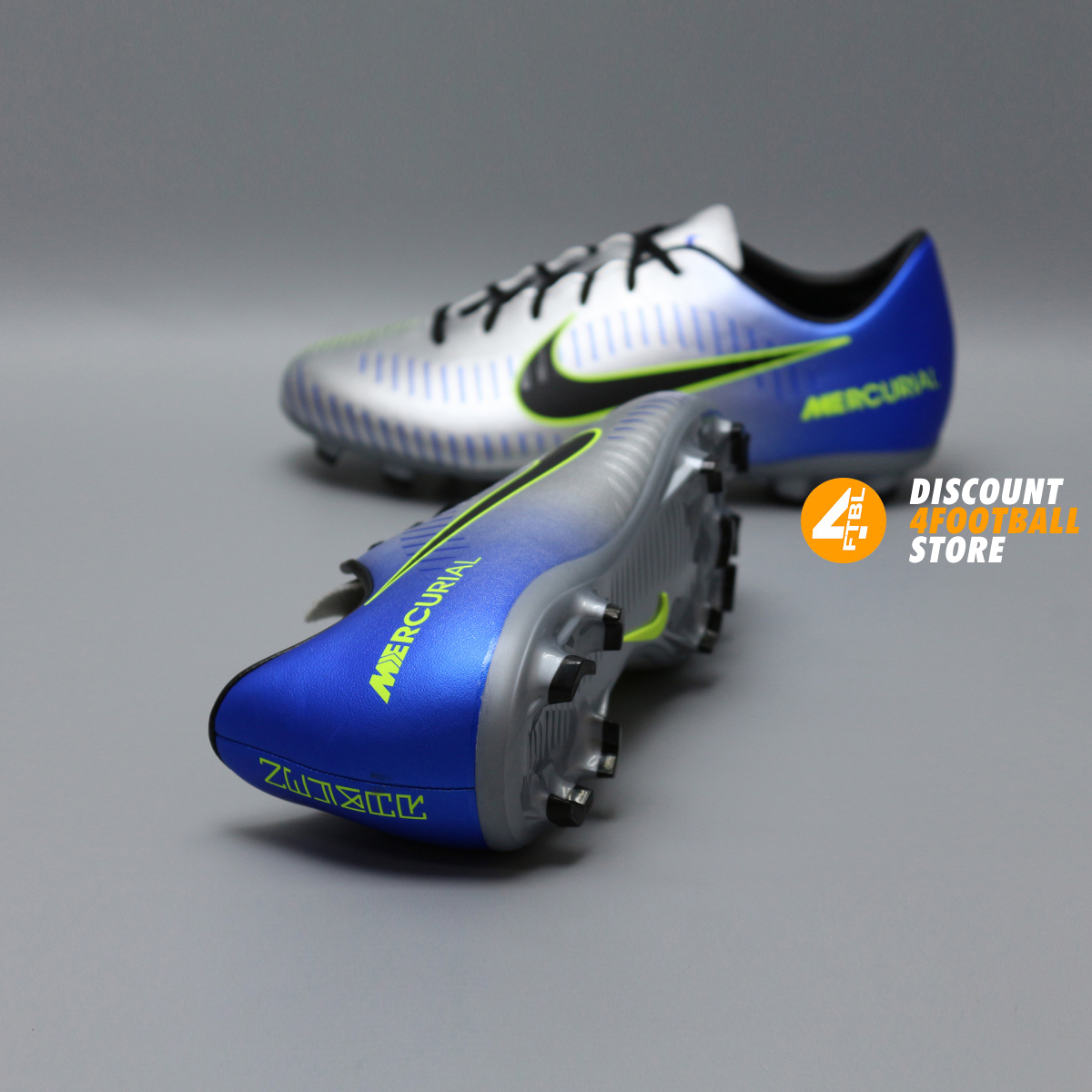2a982eb2425a ... Детские бутсы nike mercurial victory NEYMAR-R9 921488-407 Chrome Blue 2  ...